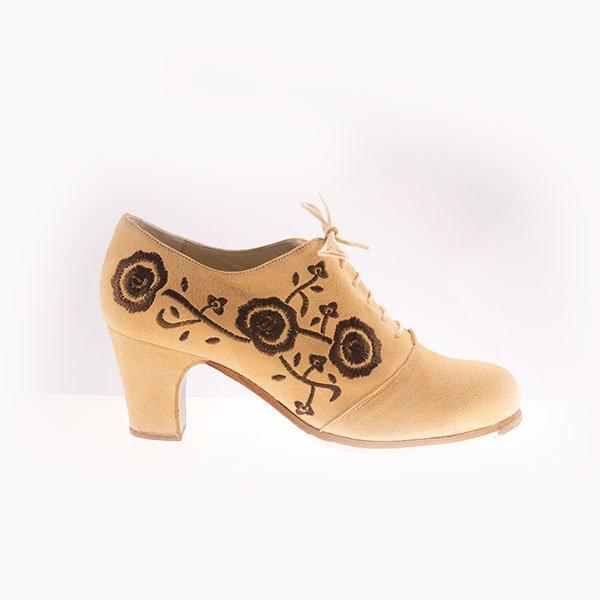 Flamenco Schuh bestickt