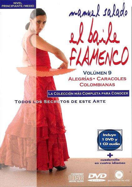 DVD Baile Flamenco Alegrías-Caracoles-Columbianas 9