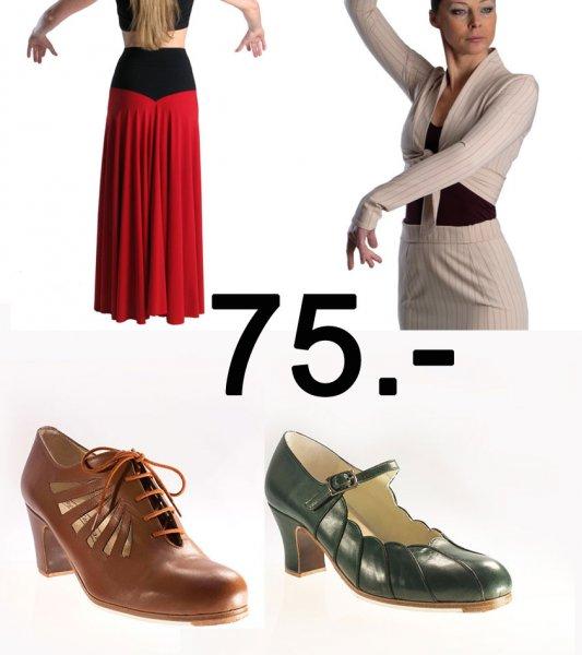 Geschenk Gutschein Flamenco