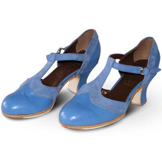 Celeste Flamenco Schuhe