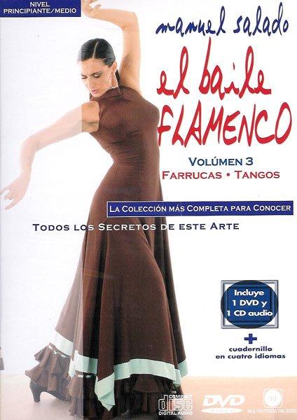 DVD Baile Flamenco Farrucas Tangos