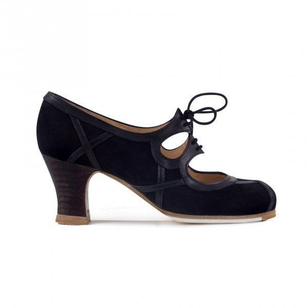 Barrocco gescnürt Flamenco Schuhe