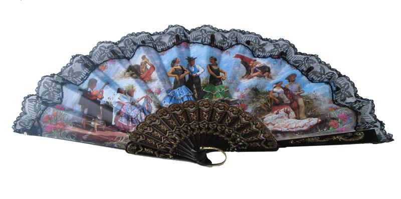 Deko f cher mit spanischen motiven flamenco shop - Spanische deko ...