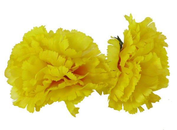 Haarblume Gelb Flamencotanz