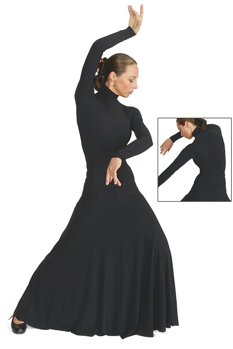 flamenco-kleid sportlich