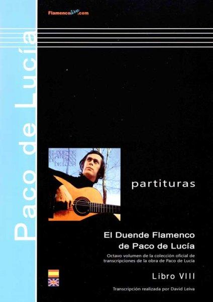 El duende Flamenco Paco de Lucia - Buch 8