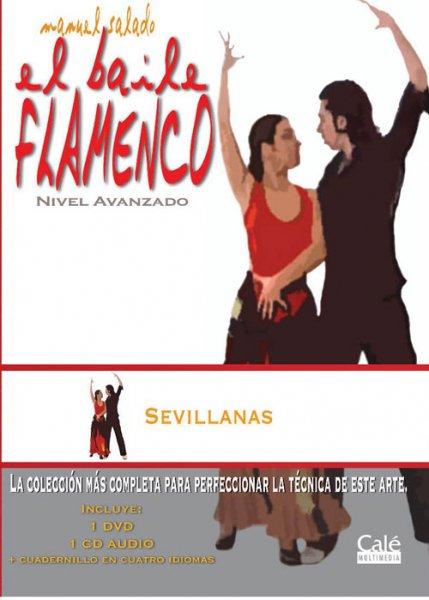 DVD Sevillanas Baile
