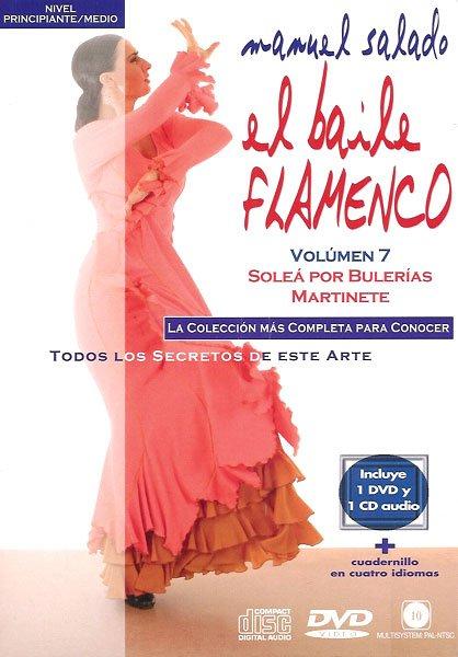 DVD Flamenco Solea por Bulerias Martinete