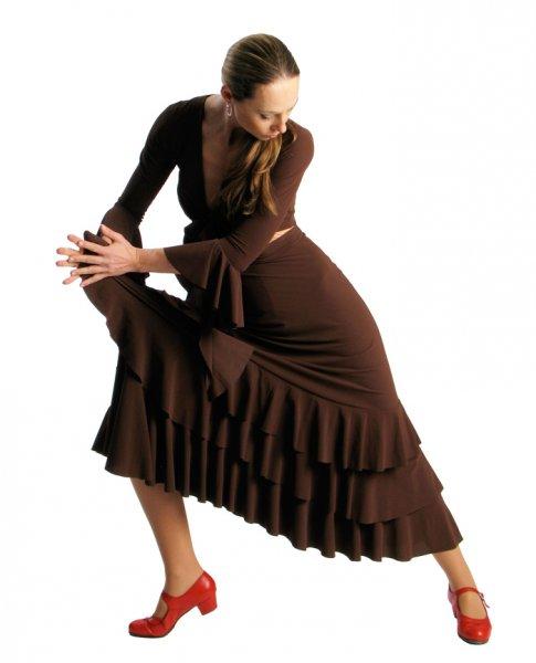 Flamenco Rock Rose Volants