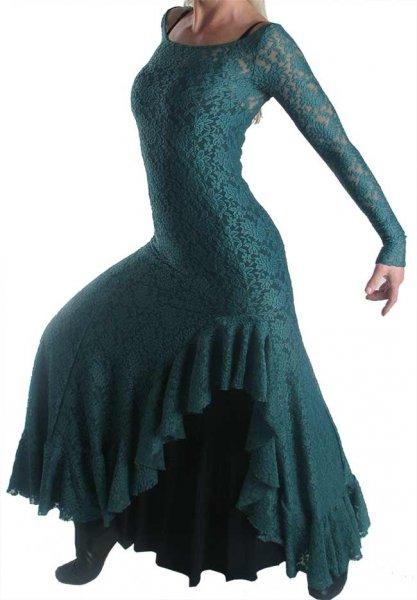 Flamencokleid Antigua Spitze