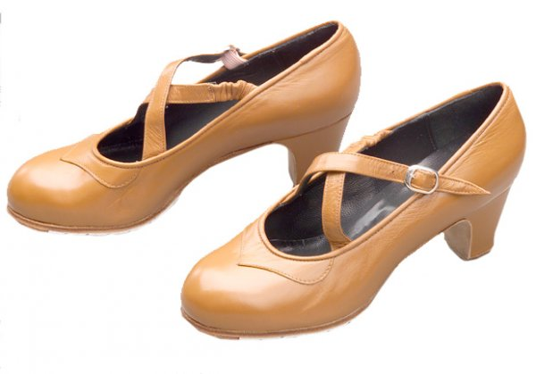 Flamenco Schuhe Dos Correas