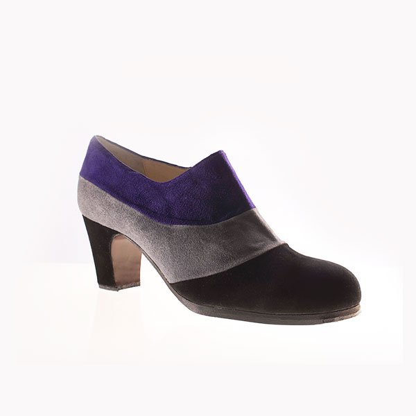 Flamenco Schuhe Tricolor