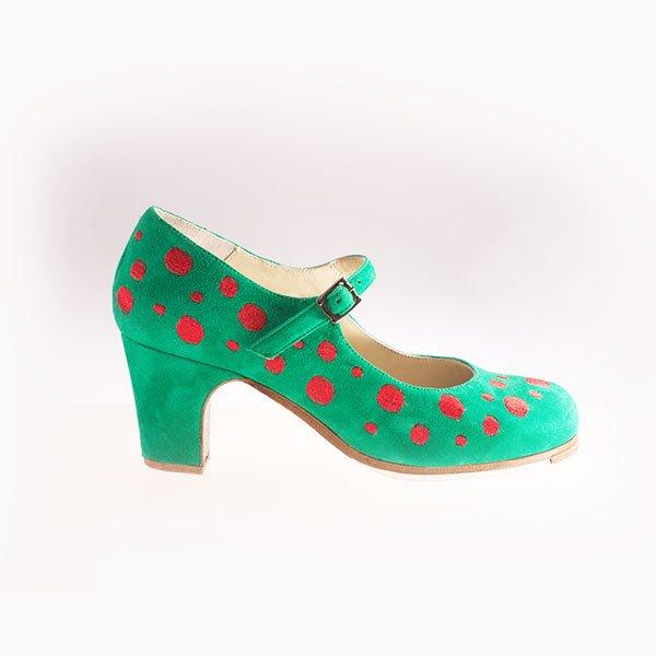 Flamenco Schuh Topos