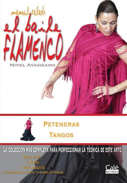 DVD Baile Flamenco Peteneras Tangos