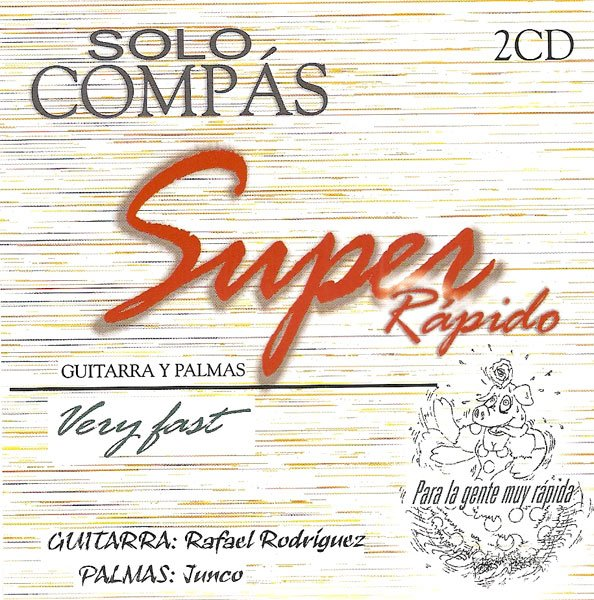 CD Solo Compas Super Rapido