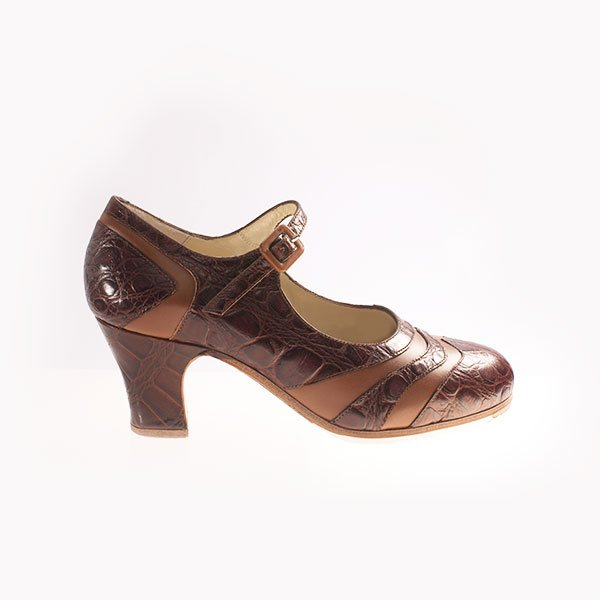Flamenco Schuhe Bicolor