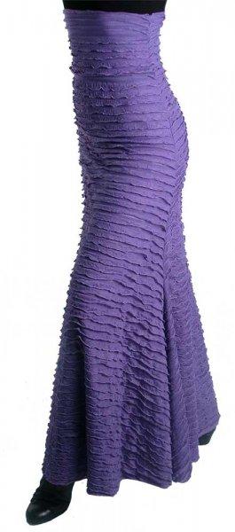 Flamenco Spitzenrock Lavendel