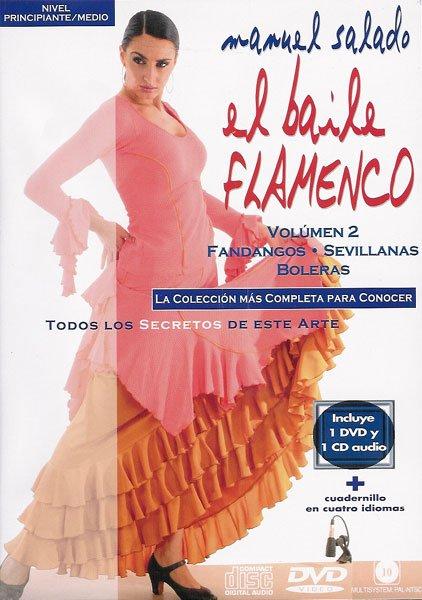 DVD Baile Flamenco Fandangos Sevillanas
