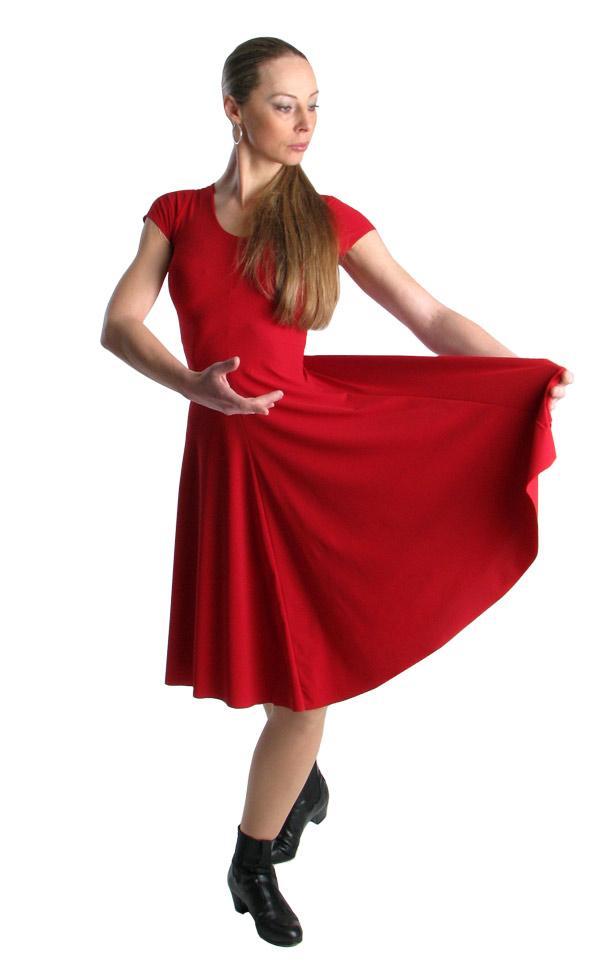 flamencokleid clasico kurz flamenco shop. Black Bedroom Furniture Sets. Home Design Ideas