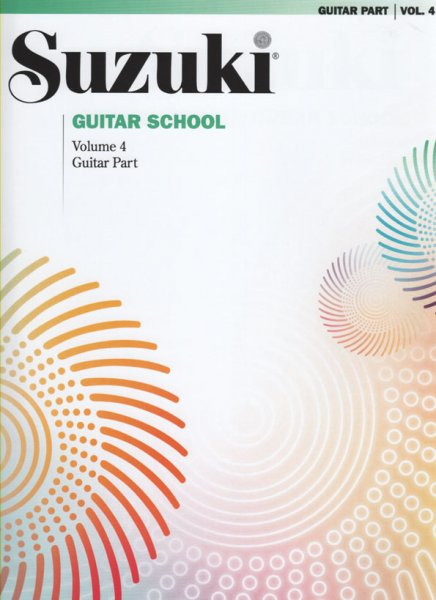 Suzuki Guitar School Vol. 4