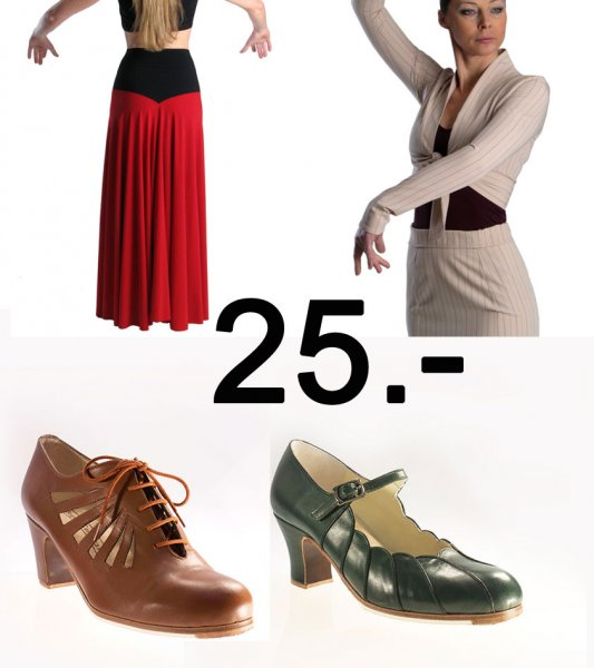 Gutschein Flamenco Shop 25 Euro